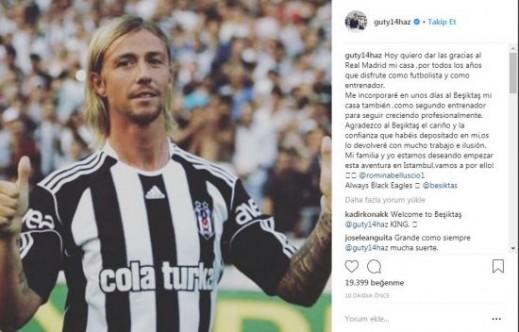 Guti, Beşiktaş'a dönüyor