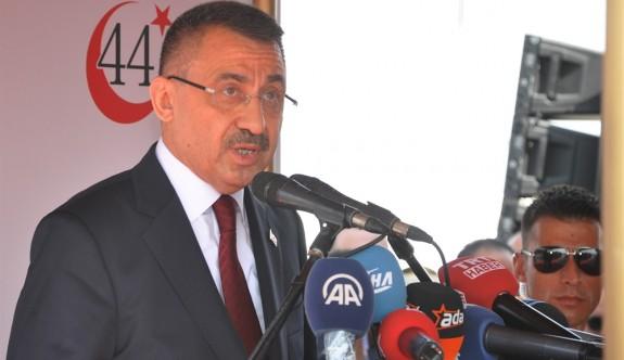 """""""Her şartta Kıbrıs Türk halkının haklarını koruyacağız"""""""