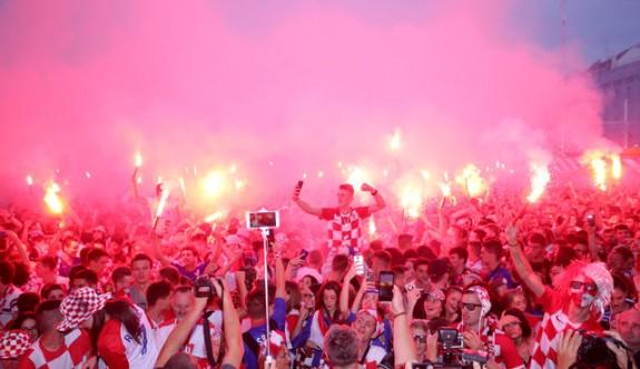 Hırvatlarda final coşkusu
