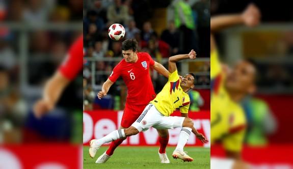 İngiltere penaltılarla  son çeyrek finalist