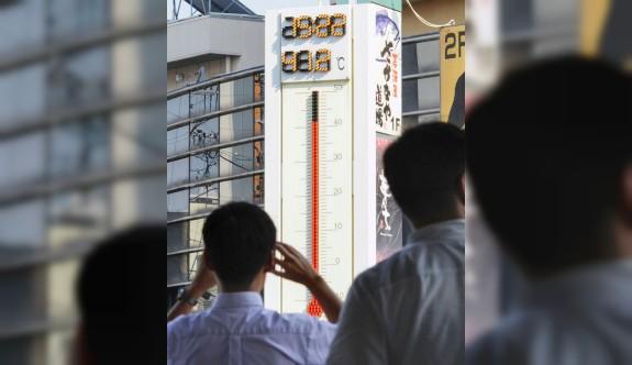 Japonya'da rekor sıcaklık