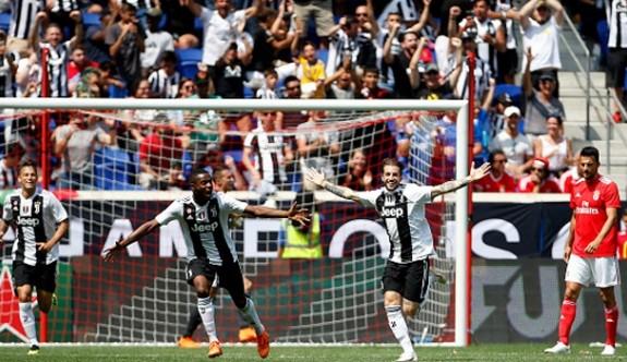 Juventus, Benfica'yı penaltılarda yıktı