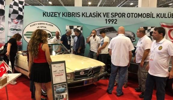 Kuzey Kıbrıs Klasik ve Spor Otomobil Kulübü İstanbul'da görücüye çıktı