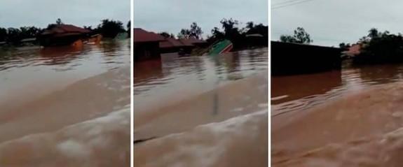 Laos'ta baraj çöktü: Yüzlerce kişi kayboldu