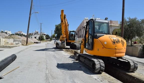 Lefkoşa Ana Taşıyıcı Kanalizasyon Hattı Projesi için ilk adımlar atıldı