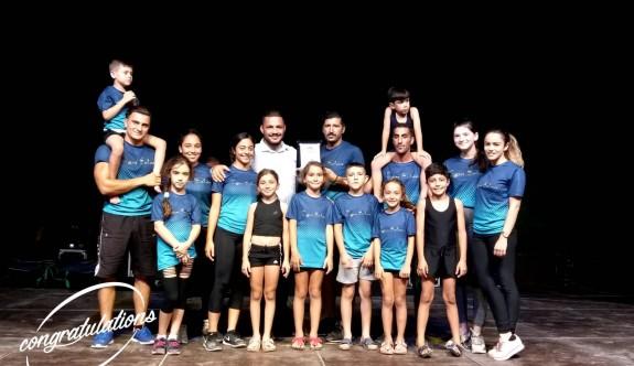 Lefkoşa Cimnastik İhtisas Kulübü, Yeşilköy'de şov yaptı