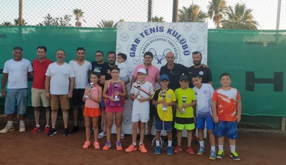 Mağusa kortlarında 12 yaş Turnuvası tamamlandı