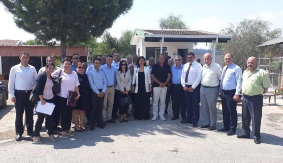 Meclis Komitesi'nden, Salamis Karavan Kamp Tesisi'ne gözlem ziyareti