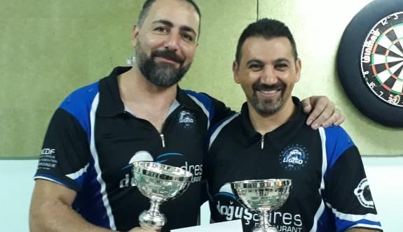 Mesarya'nın şampiyonları Çakmak – Boral çifti