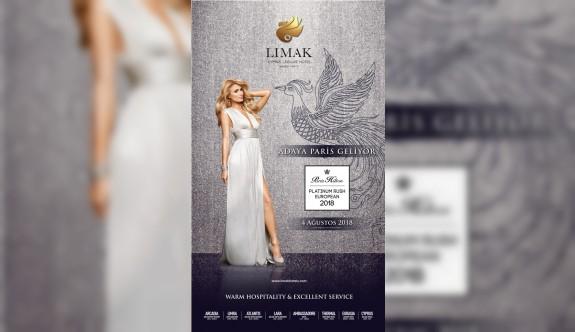Paris Hilton, 4 Ağustos'ta Limak Cyprus'ta parti verecek