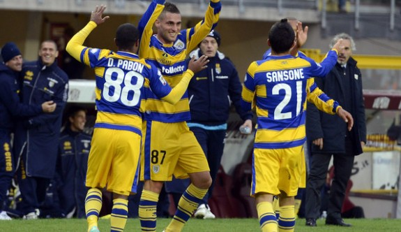 Parma puan silme cezasıyla kurtardı