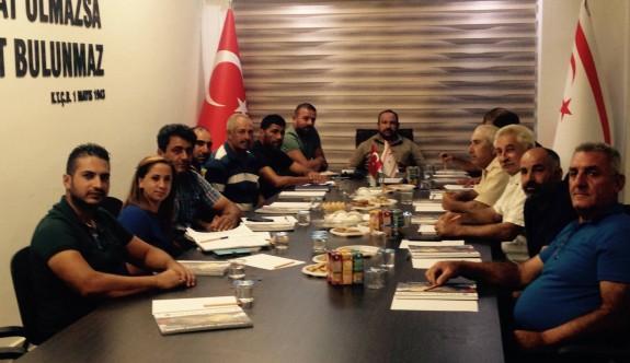 Patates Üreticileri Birliği yönetimi ilk toplantısını yaptı