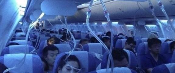 Pilotun sigarası acil inişe geçirdi
