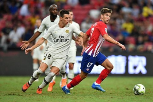 PSG, Atletico Madrid'i 90+2'de yıktı