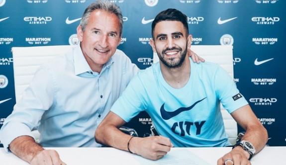 Riyad Mahrez, Manchester City'de