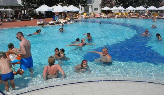 Salamis'te tatil bir başka yaşanıyor