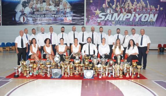 Şampiyonluk canavarı, YDÜ spor ordusu