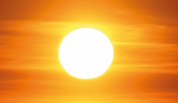 Sıcaklık 38 derece civarında