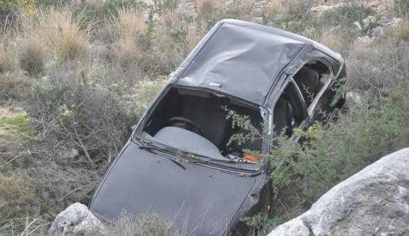 Son bir haftada 83 kaza 18 yaralı