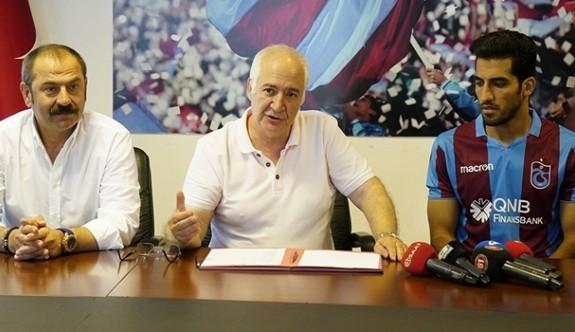 Vahid Amiri, Trabzonspor'un 125. yabancısı