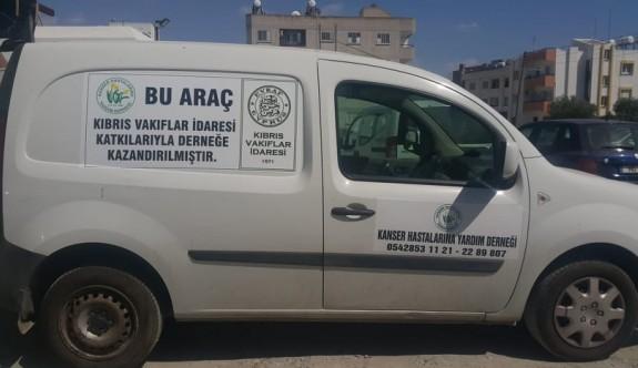 Vakıflar İdaresi'nden Kanser Hastaları'na araç bağışı