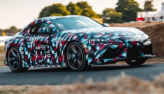Yeni Toyota Supra gün sayıyor