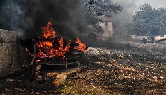 Yunanistan'da yangın faciasını yaşayanlar felaketi anlattı