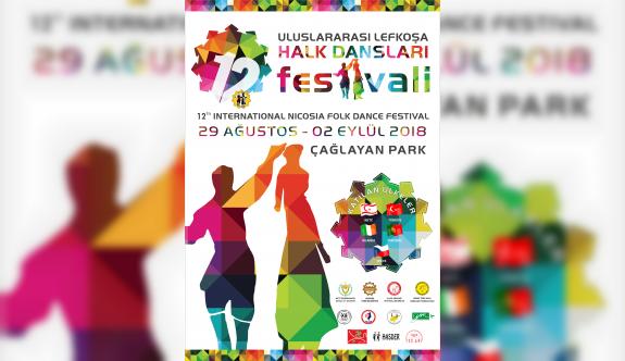 12. Uluslararası Lefkoşa Halk Dansları Festivali, Alikko ile Caher'le açılacak