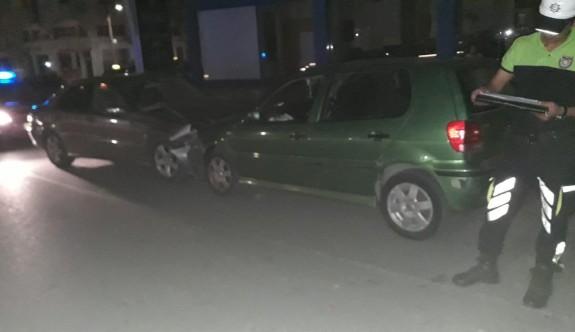 Aceleciliği kazaya neden oldu