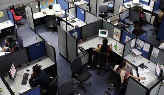 Açık ofiste çalışanlar daha aktif