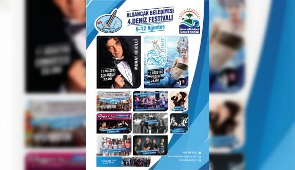 Alsancak Belediyesi 4. Deniz Festivali, yarın akşam