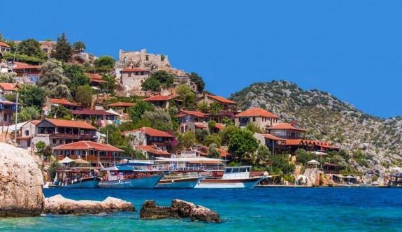 Antalya'da mavi ile yeşilin koynunda saklanan tarih: Kekova