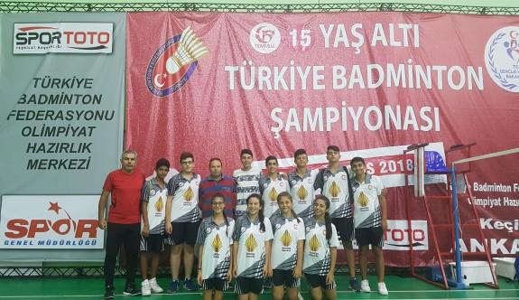 Badminton Milli Takımımız, Türkiye Şampiyonası'nda