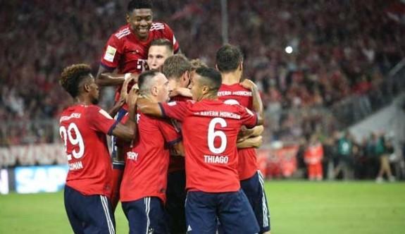 Bayern Münih sezonu galibiyetle açtı