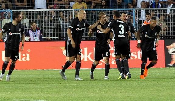 Beşiktaş ikinci yarıda coştu
