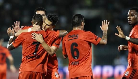 Beşiktaş, Sırbistan'dan avantajlı dönüyor