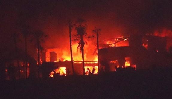 California'daki yangında binden fazla ev kül oldu