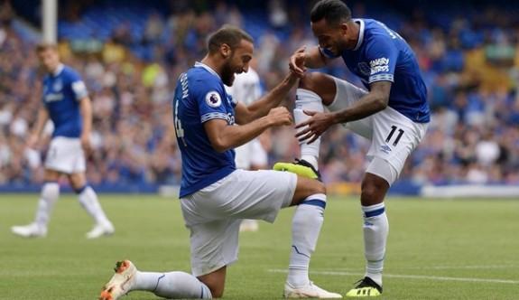 Cenk'in golü Everton'a yetmedi