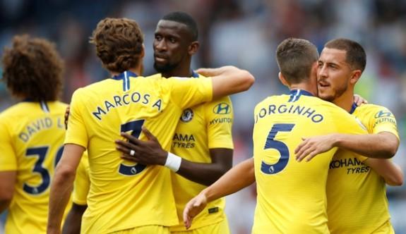 Chelsea'den sezona gollü başlangıç