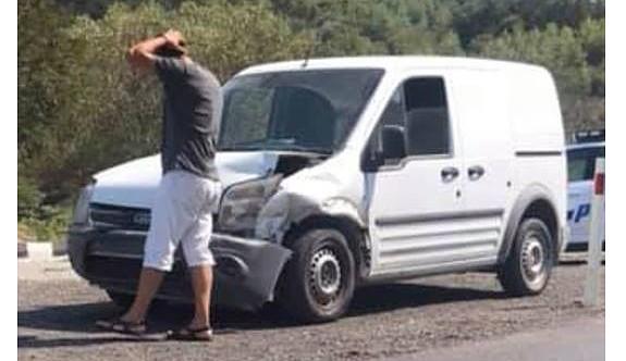 Ciklos yokuşunda yarım saat arayla iki kaza