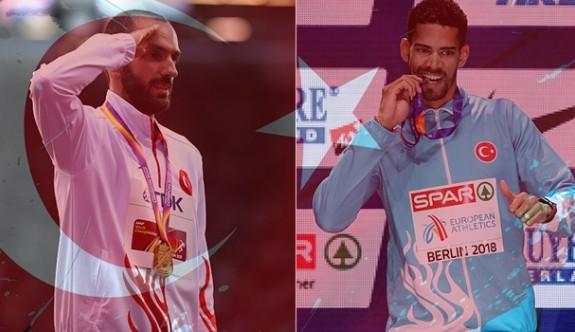 Elmas Lig finalinde 2 Türk atlet