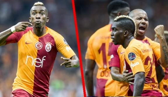 Galatasaray, Onyekuru'yla 3 puanı kaptı