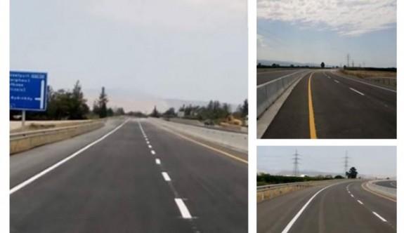 Güzelyurt-Doğancı yolu trafiğe açıldı