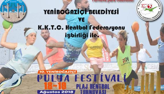 İlk plaj hentbol turnuvası Yeni Boğaziçi'nde