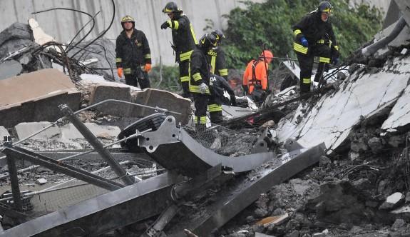 İtalya'da çöken köprüde acı bilanco