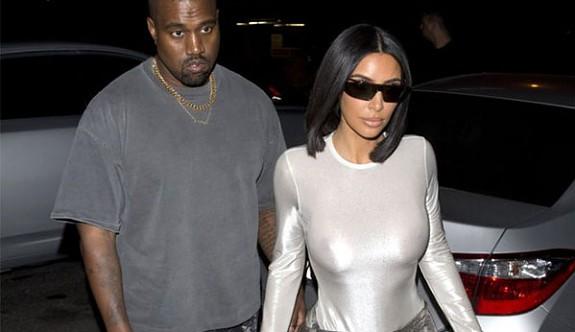 Kardashian yine göz kamaştırdı