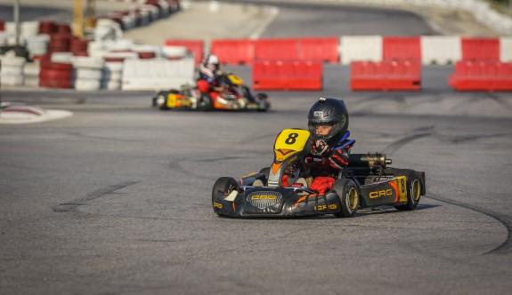 Kartingde ikinci yarış heyecanı