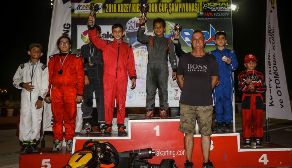 Kartingde üçüncü yarışın birincileri belirlendi