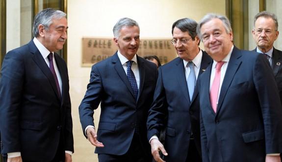 Kıbrıs için gidişat, Lute'un raporuna bağlı