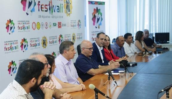 Lefkoşa, Uluslararası Halk Dansları Festivali'ne hazırlanıyor